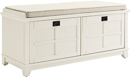 Exceptionnel Crosley Furniture Adler Entryway Bench   White