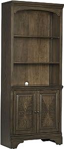 Coaster Home Furnishings Hartshill Cabinet Burnished Oak Bookcase