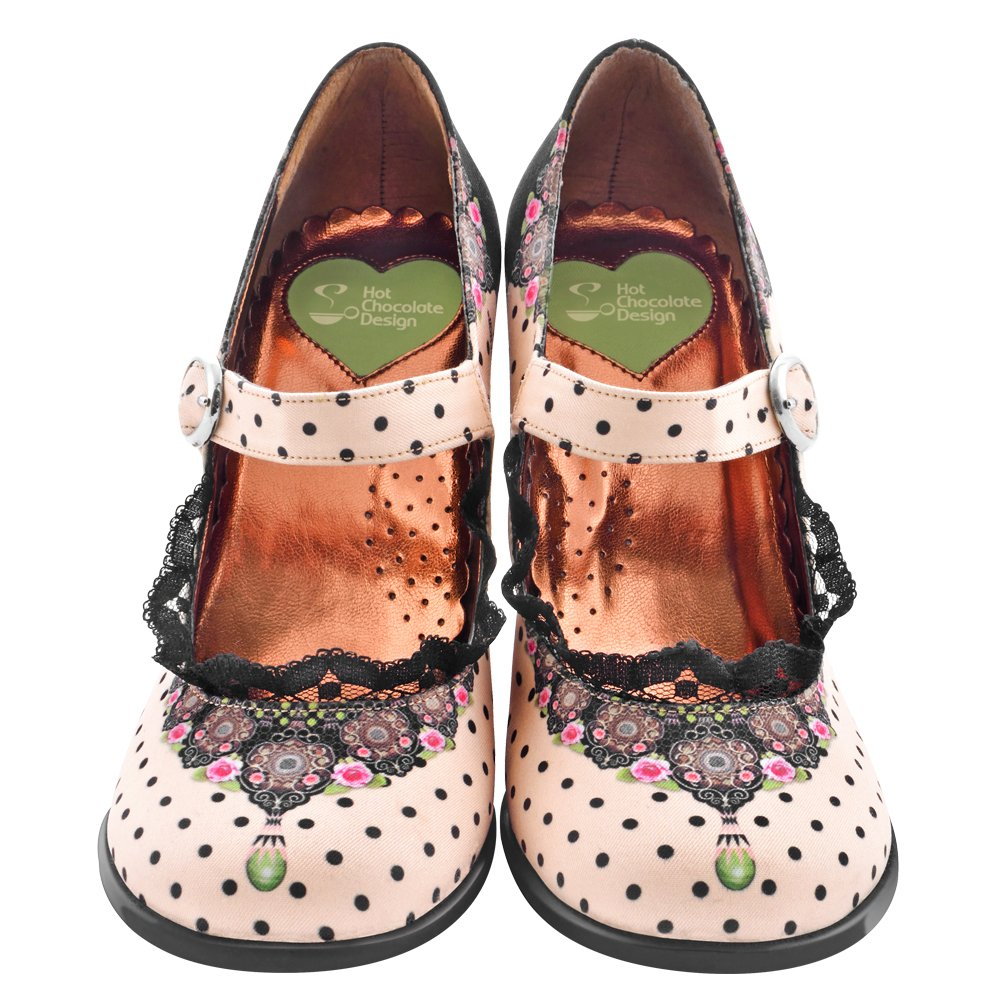 Hot Chocolate Design Chocolaticas High Heels Doris Womens Mary Jane Pump
