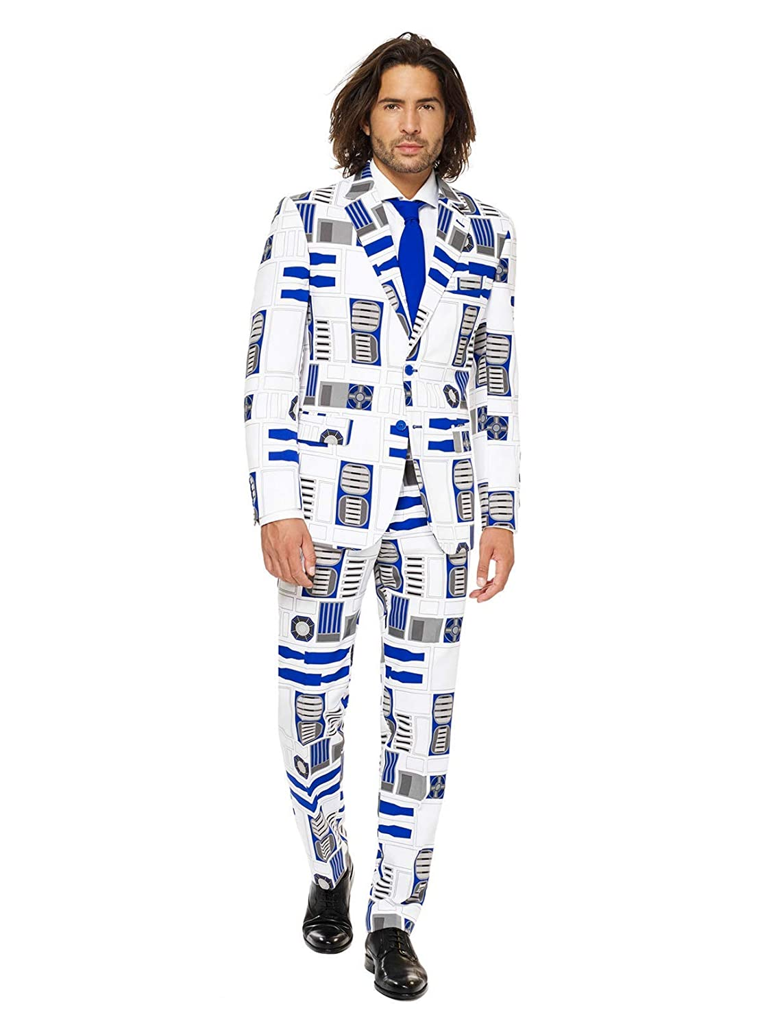 Mens R2D2 All Over Print Opposuit OppoSuits USA Inc.