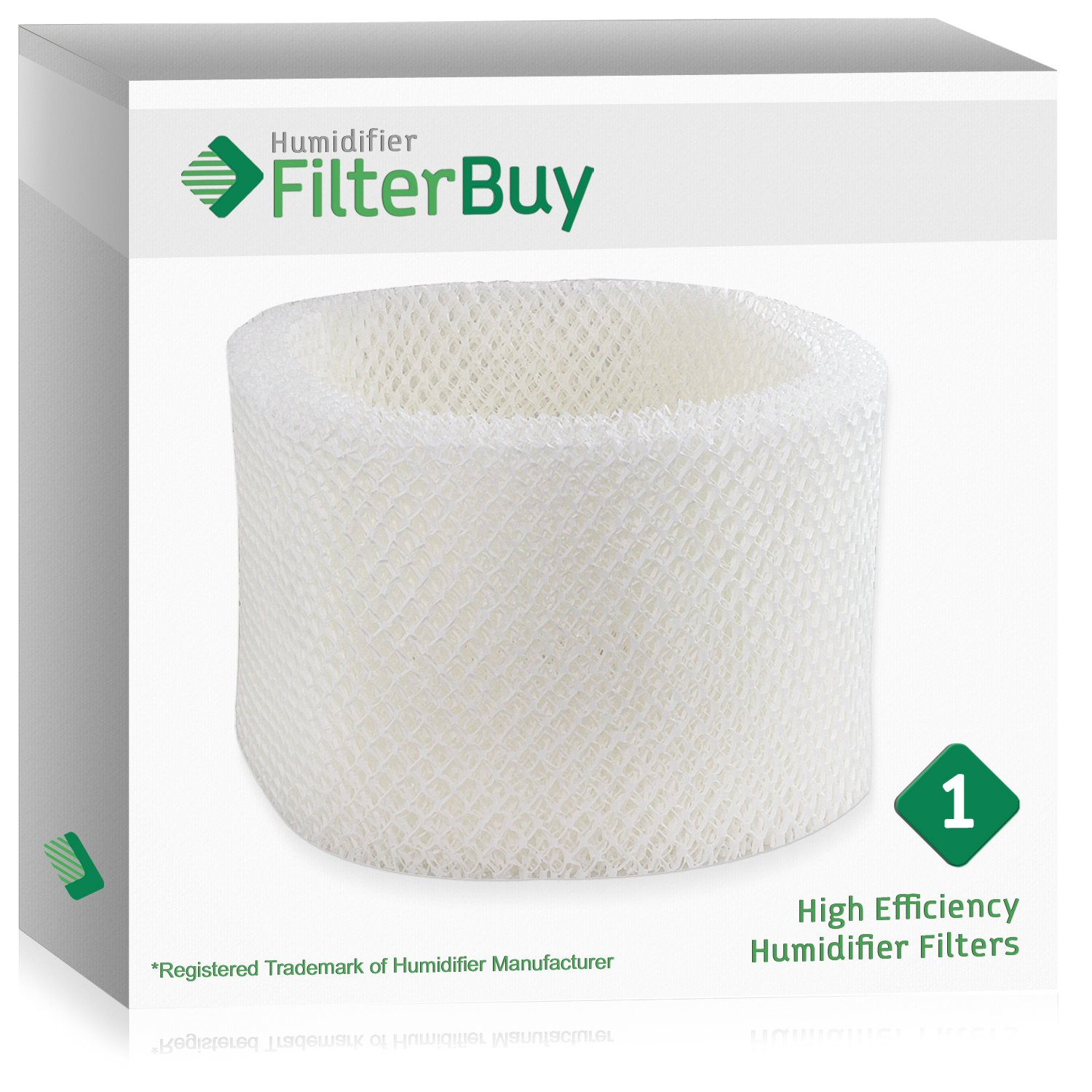 HWF72 HWF75 Holmes, Touch Point, Sunbeam Humidifier Replacement Filter. Designed by FilterBuy in the USA.
