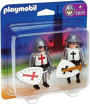 PLAYMOBIL Duo Pack Caballero y Cruzado: Amazon.es: Juguetes y juegos