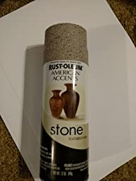 rust oleum 7992830 stone creations spray gray. Black Bedroom Furniture Sets. Home Design Ideas