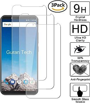 Guran [3 Unidades] Protector de Pantalla Vidrio Cristal Templado para Vernee X1 Smartphone Glass Vidrio Templado Film (9H, 2.5D Edge, 0.3mm): Amazon.es: Electrónica