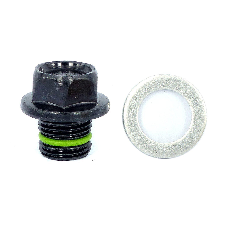 smart-o R16 de drenaje de aceite Plug M16 x 1.5 mm –  Aceite de motor Protecció n de bandeja Plug con funció n de bañ o (& Anti-vibration –  instalar má s rá pido, reu