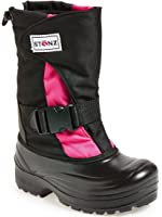 Stonz Cold Weather Snow Boots Super Insulated, Rugged, Lightweight, and Warm (Toddler/Little Kid/Big Kid)