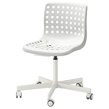 Zigzag Trading Ltd IKEA SKALBERG/SPORREN - Silla giratoria Blanca