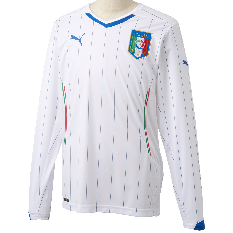 Italien Away L S Trikot 2014 2015