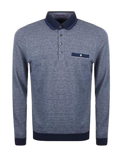 1cd974db2eee Ted Baker Mens Setta Ribstart Polo Shirt in Navy Blue 3XL  Amazon.co.uk   Clothing