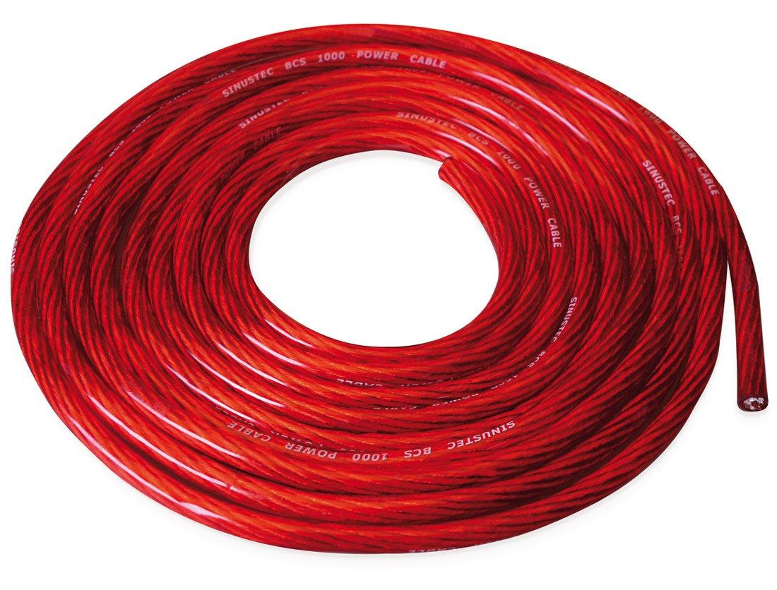 Sinustec BCS 1600/Set cavi per amplificatore auto 16/mm2