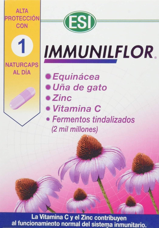 Trepatdiet Immunilflor - 30 Cápsulas: Amazon.es: Salud y cuidado personal