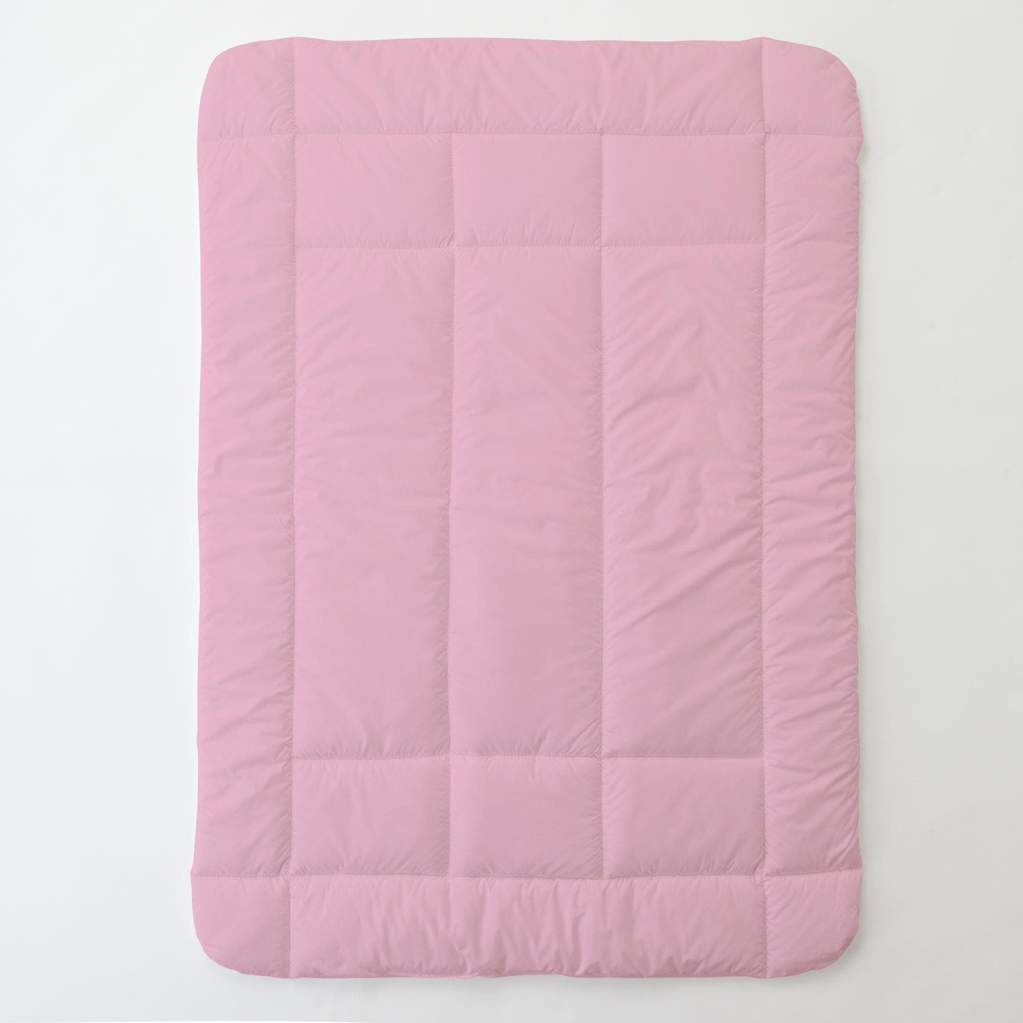 Carousel Designs Solid Color Bubblegum Pink Toddler Bed Comforter by Carousel Designs