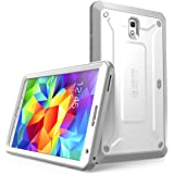 Samsung Galaxy Tab S 8.4 Case, SUPCASE [Heavy Duty] Case for Galaxy Tab S 8.4 Tablet [Unicorn Beetle PRO Series] Full-body Rugged Hybrid Protective Cover with Built-in Screen Protector (White/Gray)