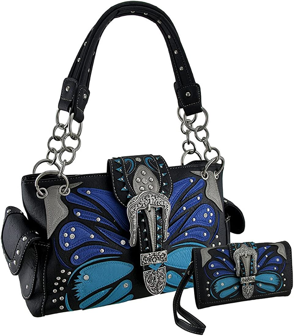 Tribal Butterfly Floral...