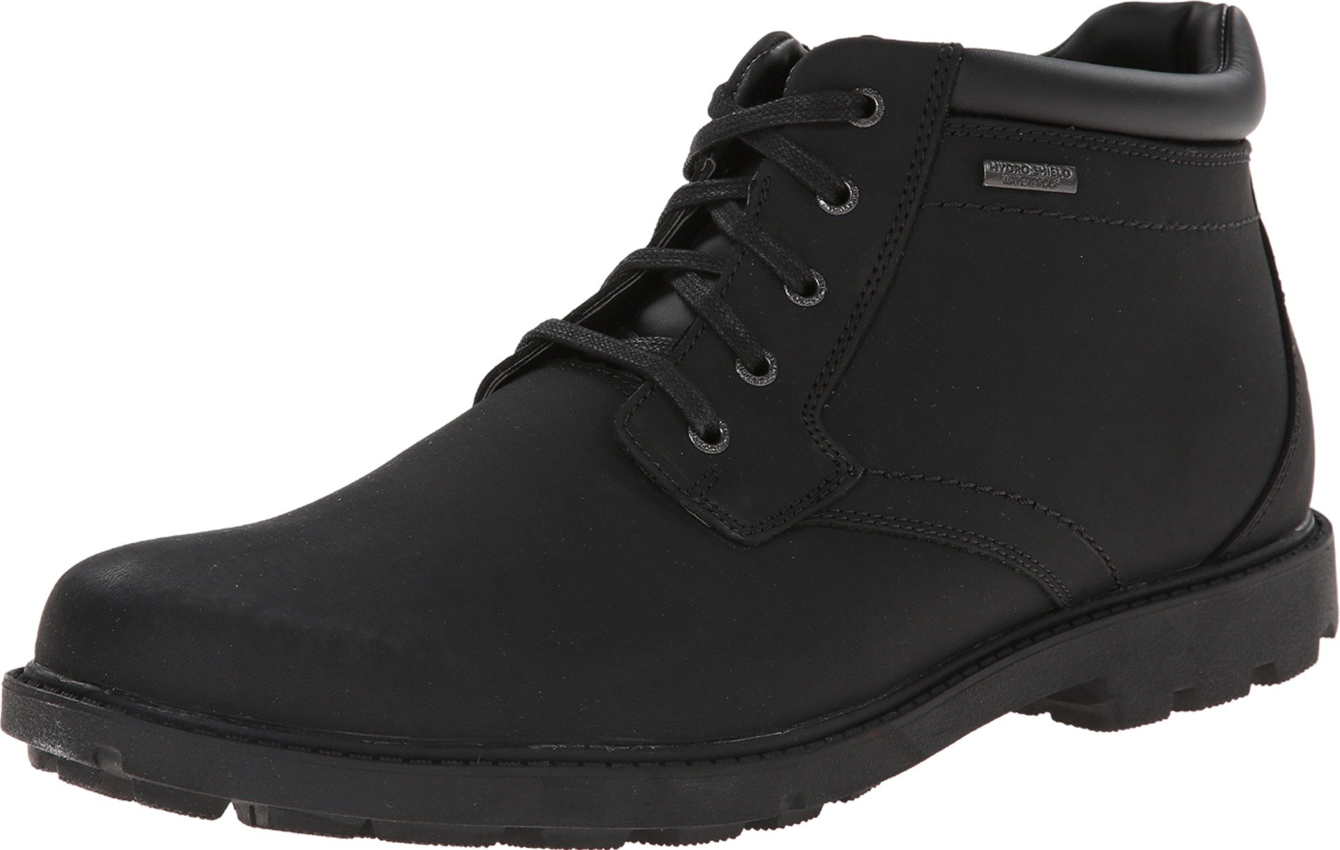 Rockport Men's Storm Surge Water Proof Plain Toe Boot Black 11 W (EE)-11 W