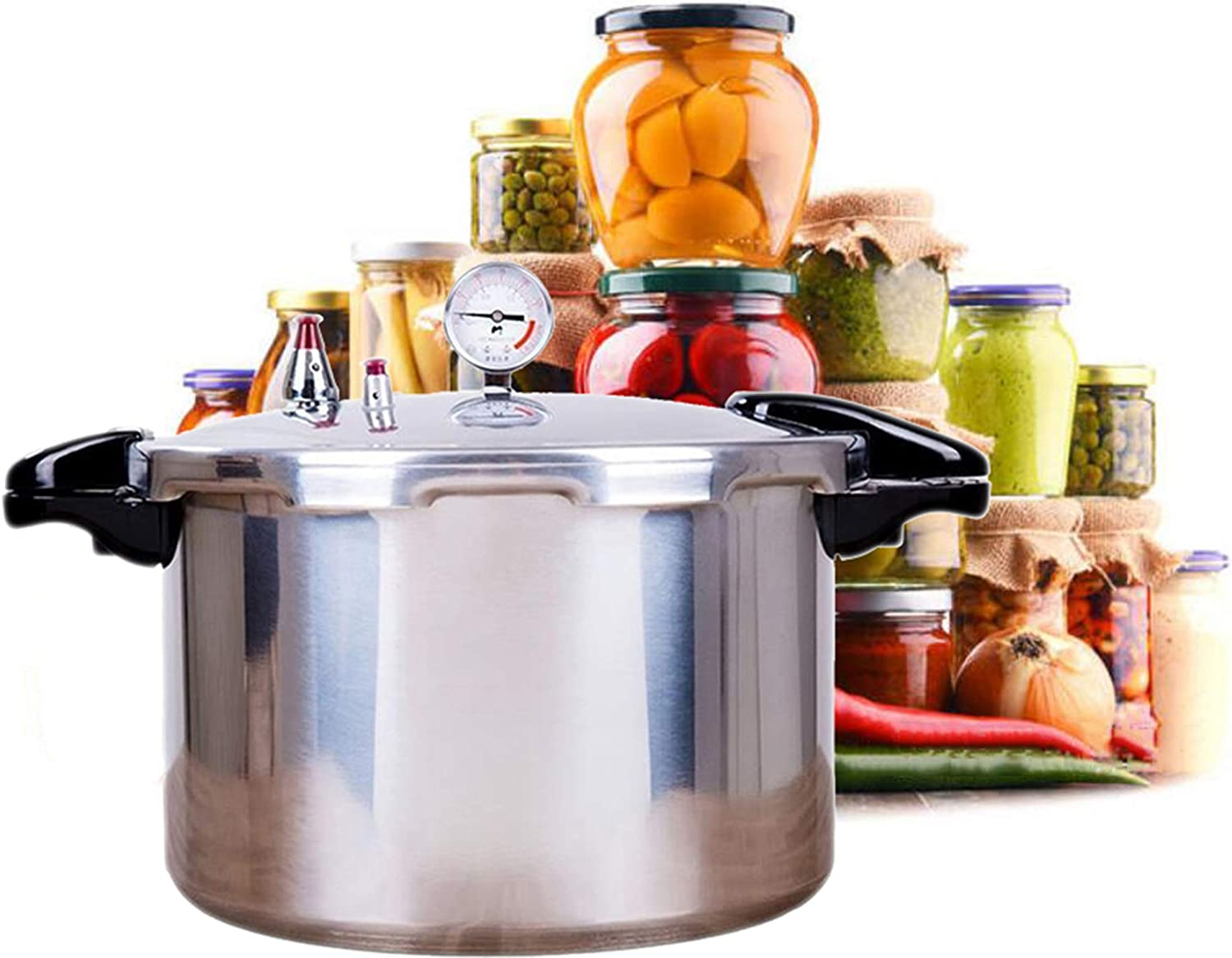 best pressure cooker for canning cooks essentials pressure cooker 22quart large capacity instant Suitable for hotel family kitchen Beef stew steamed canned Delivered to you within 3-5 days