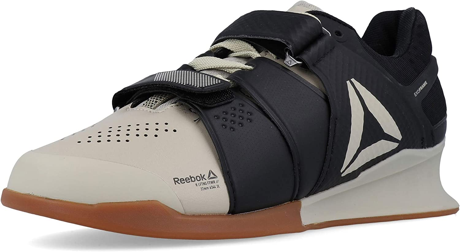 Reebok Legacylifter, Chaussures de Fitness Homme Multicolore Light Sand Black Gum 000