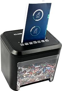 LMG | Premium Aktenvernichter im SCHREIBTISCHFORMAT - 2 JAHRE GARANTIE - Mit Automatischem Einzug & Rücklauffunktion! 2,5 Meter/Minute für Papier & Kreditkarten. 3 L Behälter - in hochwertiger Ausfü