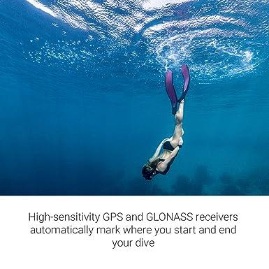 Garmin Descent MK1 GPS Dive Watch - Gray Sapphire with DLC Titanium ...