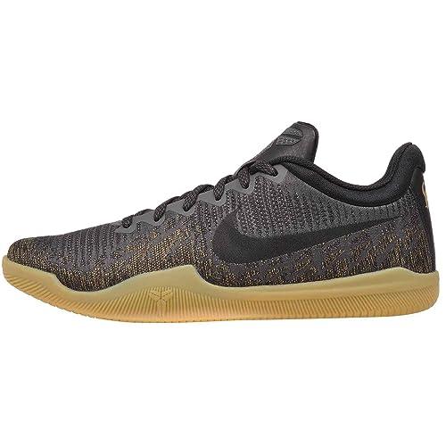 best sneakers 61d8c e1fb7 Nike Mamba Rage Prm, Scarpe da Fitness Uomo, Multicolore (Dark Grey/Black