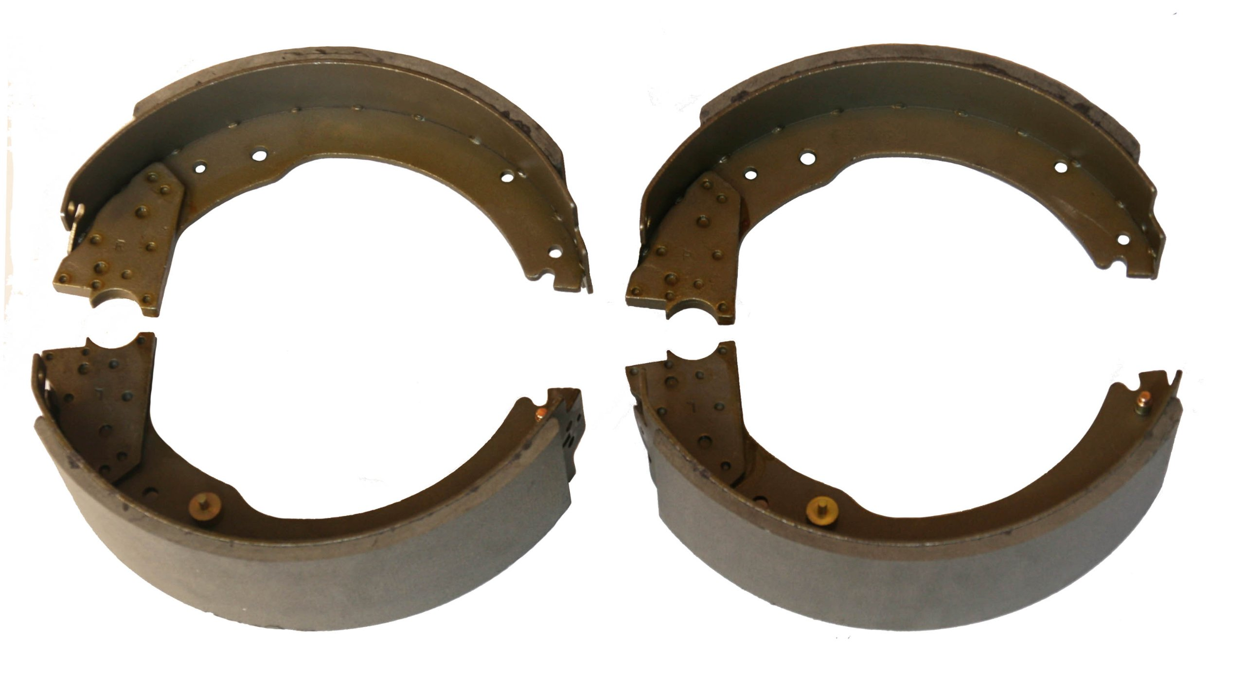 12-1/4'' x 3-3/8'' trailer brake shoes replacement kits (2 pairs) - 21030
