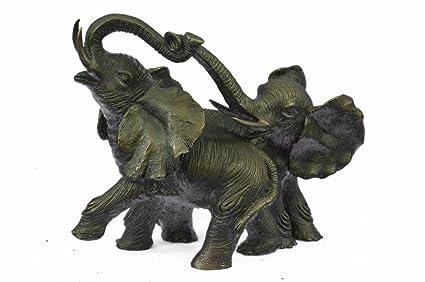 Bronze sculpture statue livraison gratuite chambre elephant