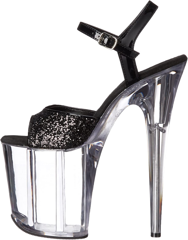 Pleaser Womens FLAM810//BG//C Platform Dress Sandal