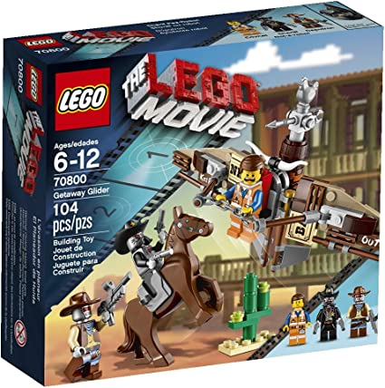 Amazon Com Lego Movie 70800 Getaway Glider Discontinued By Manufacturer Toys Games