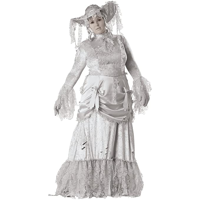 Make an Easy Victorian Costume Dress with a Skirt and Blouse InCharacter Costumes Womens Ghostly Lady Elite Collection Adult Costume $94.99 AT vintagedancer.com