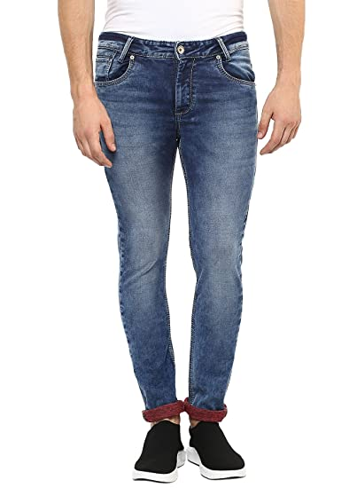 cd2ade3660e0 Mufti Men s Skinny Fit Jeans  Amazon.in  Clothing   Accessories