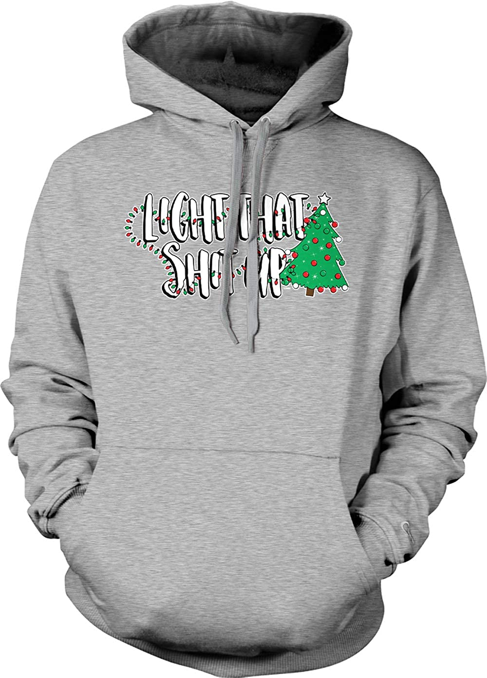 Christmas Xmas Tree Unisex Hoodie Sweatshirt Tcombo Light That Sht Up
