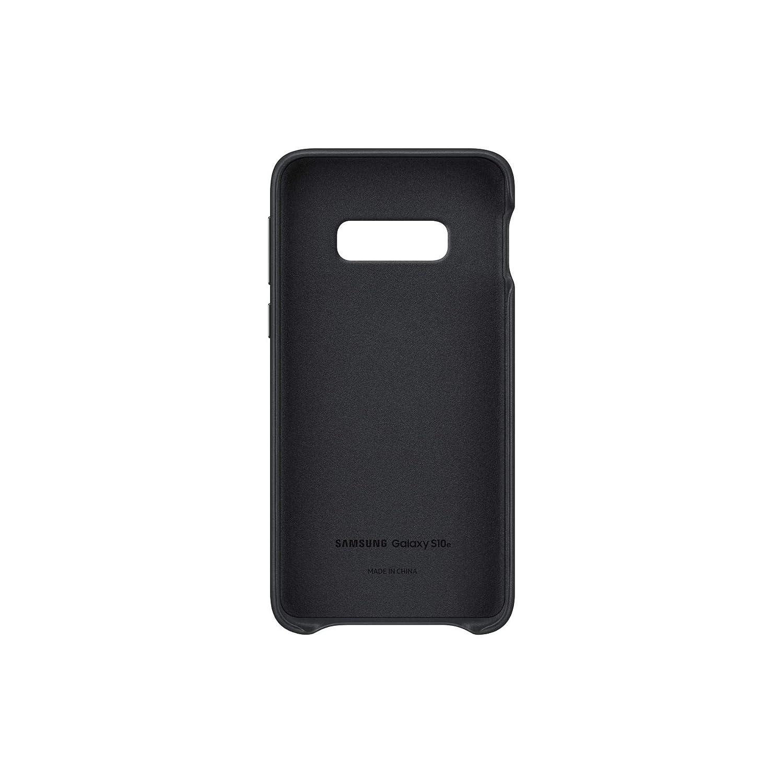 color blanco funda oficial para Samsung Galaxy 10e Samsung Leather Cover