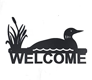 """Eagle Eye Products LLC Loon Welcome Sign 