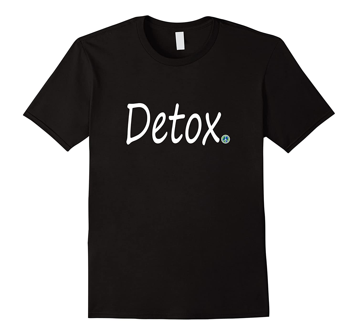 Inspirational Journey Tshirts Detox World Peace Point-Vaci