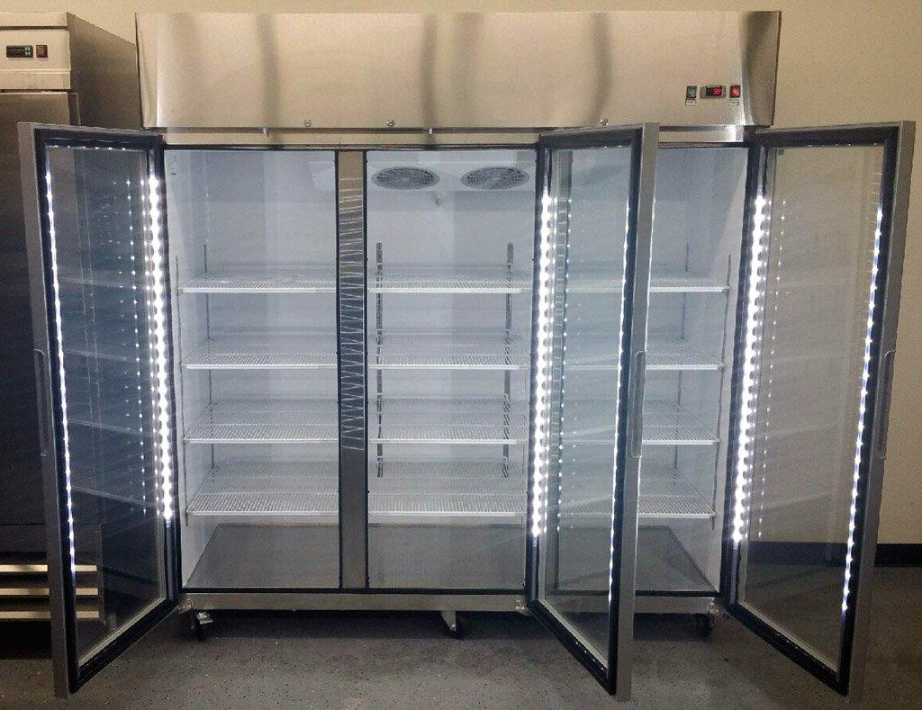 Amazon 78 3 Door Commercial Reach In Glass Front Freezer