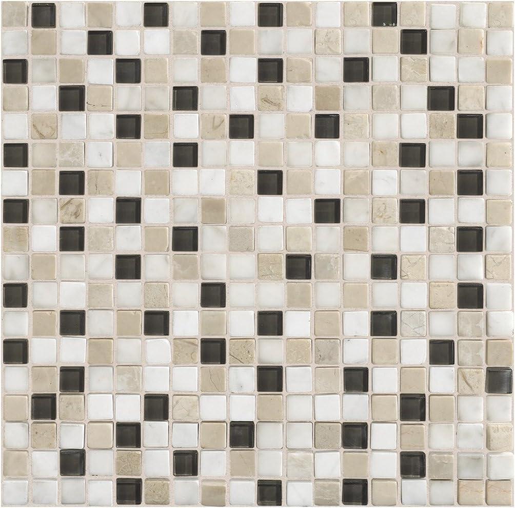 Tile Dal-Tile 5858MS1P-SA50 Stone Radiance Tile Kinetic Khaki Blend 42433 x 8 Dal