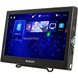 WIMAXIT 11.6 Inch 1920X1080 FULL HD Portable LCD Display Screen Monitor VGA/HDMI Monitor With Built In Speakers Compatible for Raspberry Pi B+/2B/3B WiiU Xbox 360/PS4/mac os/ Windows 7/8/10 (11.6inch)
