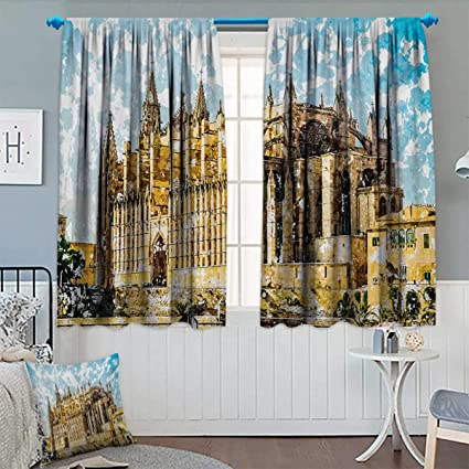 Amazon.com: Anhounine Gothic,Blackout Curtain,Big Gothic ...