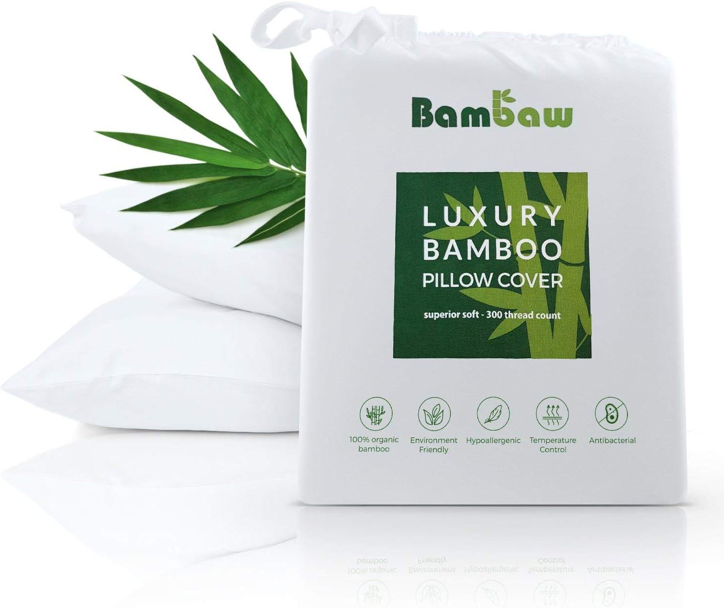 De luxe en microfibre coussin organic bamboo cover hypoallergénique anti bacterial