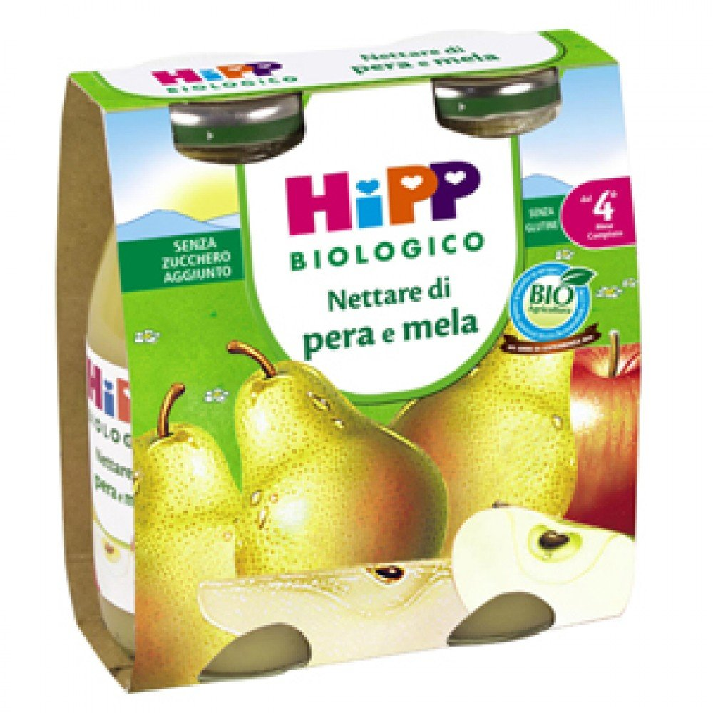 Hipp Organic Nectar Pear And Apple 200ml 2 Pieces