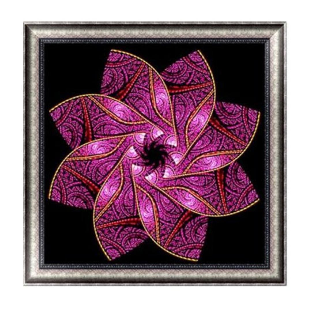 TiTCool 5D Diamond Painting Kit E Floral Kaleidoscope Drill Rhinestone Pasted Craft DIY Home Decorative