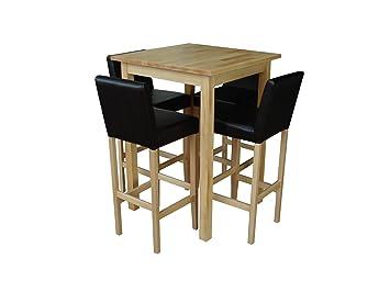 hochtisch kuche hochtisch kche sketchl stehtisch auf rollen eiche gelt x barhocker mit. Black Bedroom Furniture Sets. Home Design Ideas