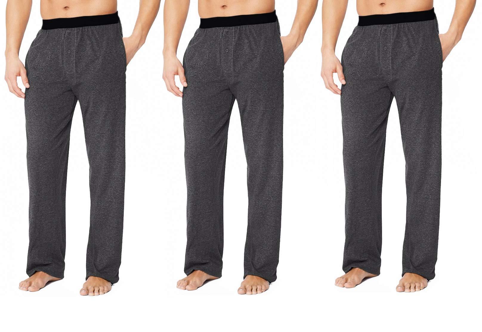 Ecko (3 Pack) Cool Knit Sleep Pajama Pants for Men Pajamas Soft Lounge Pants PJs