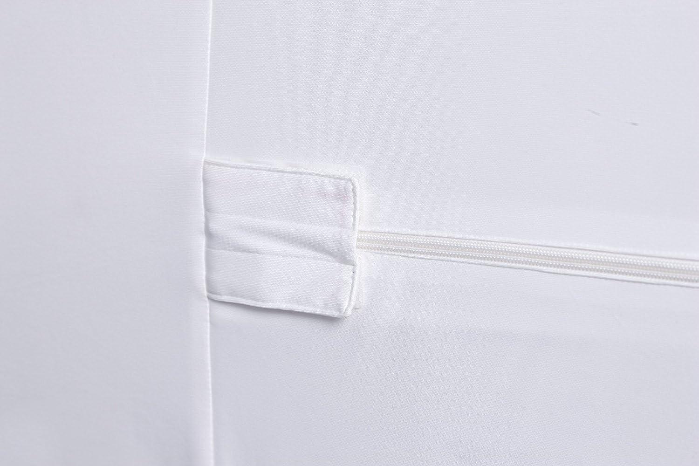 140 x 200 cm Bed Bug and Dust Mite Proof Mattress Cover Utopia Bedding Premium Zippered Waterproof Mattress Encasement Ample Zip Opening