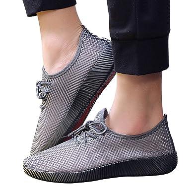 Zapatos Hombre Verano Mocasines Malla Cruzada Atado De Los Hombres Zapatos De Gimnasia De Ventilación Cruzada Zapatillas Deportivas: Amazon.es: Zapatos y ...