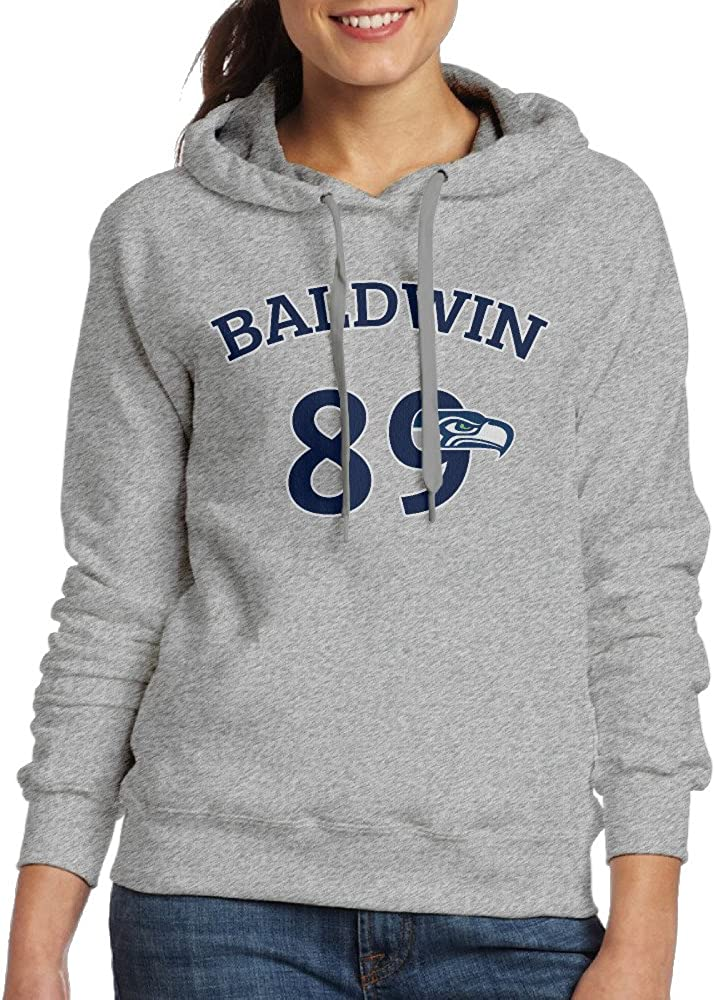 Ano Women's Hooded Seahawk Wide Receiver #89 Ash