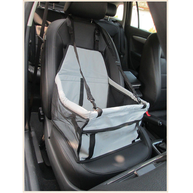 Buwico Wasserdicht Pet Carrier Safety Car Sicherheitsgurt Bezug Booster Tasche Matte Auto Kissen f/ür Hund Katze Haustier Puppy