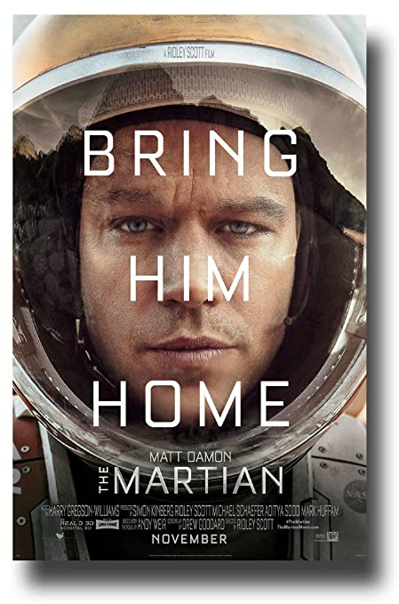 Amazon Com The Martian Poster Movie Promo 11 X 17 Inches