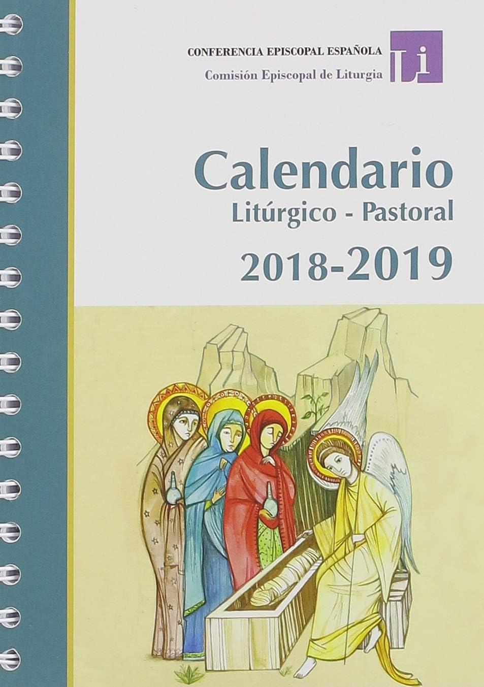 Calendario Litúrgico Pastoral 2019: CONFERENCIA EPISCOPAL ESPAÑOLA ...