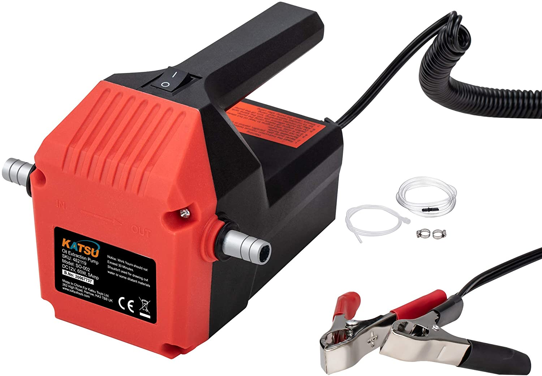 Katsu Mini Pompe dextraction dhuile Moteur de Voiture 12 V 60 W